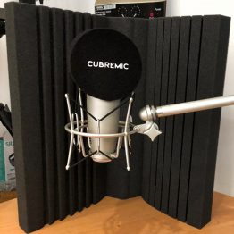 Paraviento de micrófono