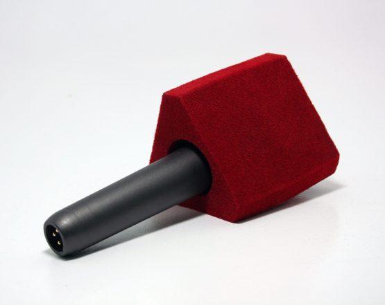 Paravientos de micrófonos forma triangular